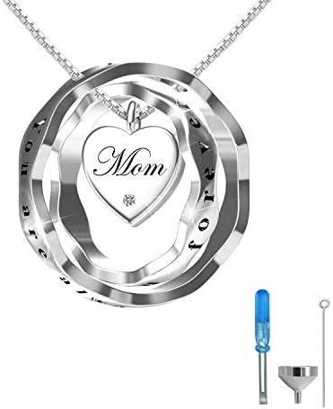oGoodsunj Sterling Cremation Necklace Necklaces product image