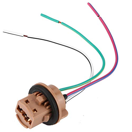 Plug Wire Harness, LED Bulb Light Lamp Wire Harness Pigtail Female Socket Connector:
