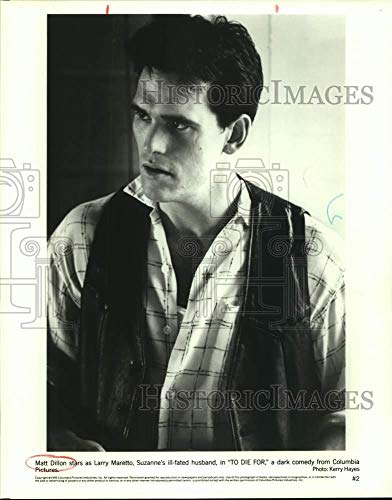 - Vintage Photos 1995 Press Photo Matt Dillon Stars in to Die for. - sap01887