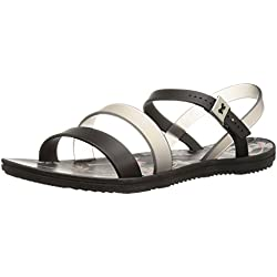 Zaxy Women's Urban Ii Jelly Sandal, Black, 6 M US