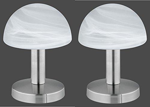 2er - Set 599000107 Tischleuchte Tischlampe Nachttischleuchte Touch - Me