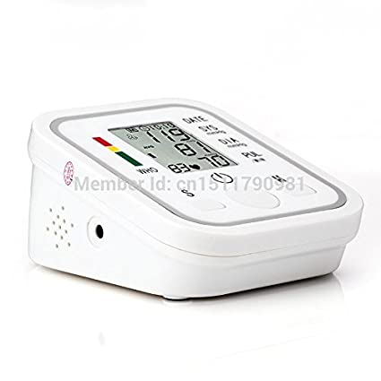 Amazon.com: arm blood pressure bp monitor tonometer hematomanometer sphygmomanometer pulsometros health monitors care for heart nonvoice: Health & Personal ...