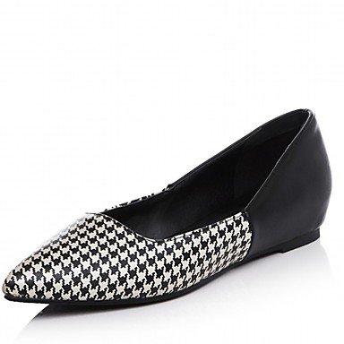 Cómodo y elegante soporte de zapatos de tacón para mujer primavera/verano/otoño/invierno tacones/plataforma/novedad/correa de tobillo/punta Toe negro