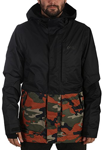 Oakley Highline 10K Bzs Jacket, Warning Camo, - Camo Jacket Oakley