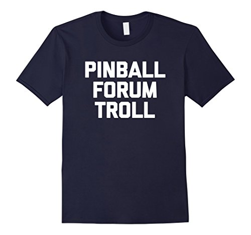 Amazon com: Pinball Forum Troll T-Shirt pinball machine