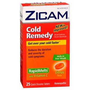 ZICAM COLD RAPID MELT W/VIT C 25TB by ZICAM, LLC ***