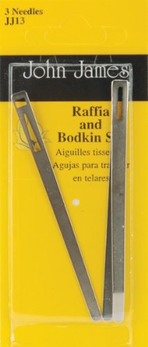 Brand New Bodkin & Raffia Set-3/Pkg Brand New