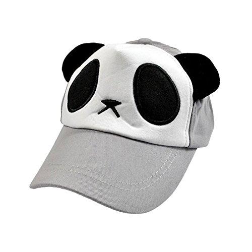 Chapeaux En Panda Casquette De Pour Gris bleu Forme Enfants Baseball Acvip dx46gnwd