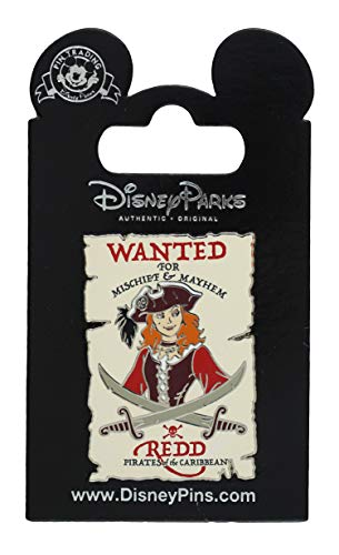 - WDW Trading Pin - Pirates of the Caribbean - Wanted Poster - Redd