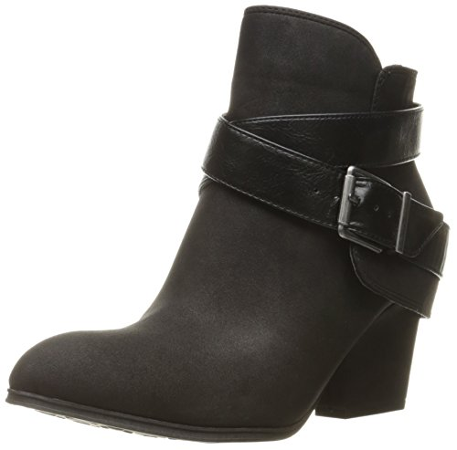 LifeStride Women's Wendy Ankle Bootie, Black 1, 8 M US