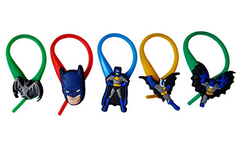 [AVIRGO 5 pcs Colorful Soft Zipper Pull Charms for Jacket Backpack Bag Pendant Set # 120 - 4] (Dc Comics Penguin Costumes)