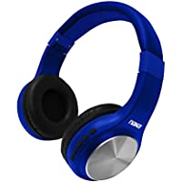 NAXA Electronics Bluetooth Orion Bluetooth Wireless Headphone Blue (NE-964 BLUE)