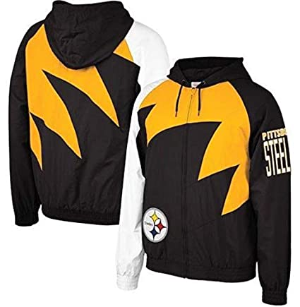 more photos fdefc b0d59 Amazon.com : Mitchell & Ness Pittsburgh Steelers Shark Tooth ...