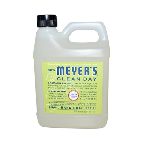 Earth Friendly, Mrs. Meyers Liquid Hand Soap Refill 33 Oz Le