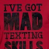Hanes Men's Graphic Tee-Humor, Mad Skills Deep