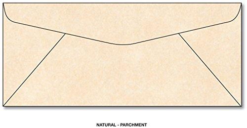Mohawk Skytone Vellum Natural Parchment Envelopes, #10 Commercial Flap, 4-1/8 X 9-1/2 Inches, 24w (89 Gsm) - 100 Envelopes. (Skytone Vellum)