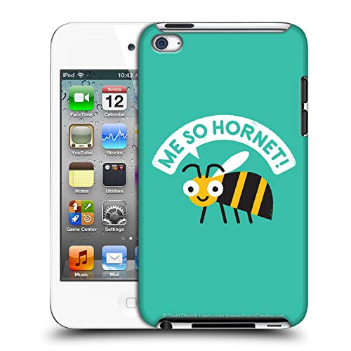 - Official David Olenick Yellow Jacket Animals Hard Back Case Compatible for Apple iPod Touch 4G 4th Gen