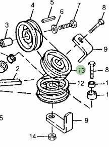 Amazon.com : John Deere Original Equipment Sheave #M86596 ... on john deere ignition switch diagram, john deere riding mower diagram, john deere 108 belt diagram, john deere 317 ignition diagram, john deere tractor wiring, john deere 108 voltage regulator, john deere 108 battery, john deere sx95 diagram, john deere 108 parts diagram, john deere wiring schematic, john deere 108 brakes, john deere 108 riding mower, 2005 sterling truck ignition switch wiring diagram,