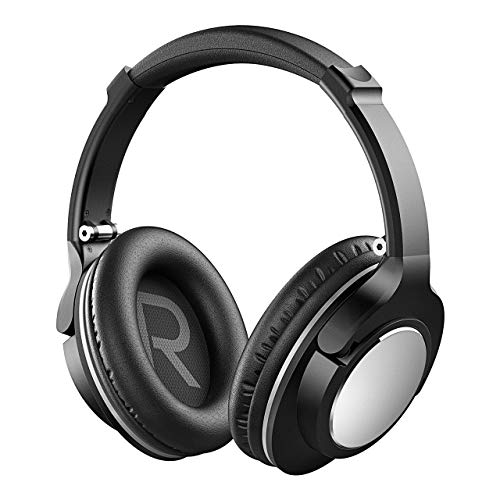 - ONEISALL Bluetooth Headphones Over Ear, Wireless Headset with Hi-Fi Deep Bass, Foldable, Comfortable Protein Earpads, Light Wireless Headphones w/Built-in Microphone and Wired Mode for TV/PC/Cellphone