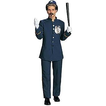 Deluxe Keystone Kop Adult Costume - Large