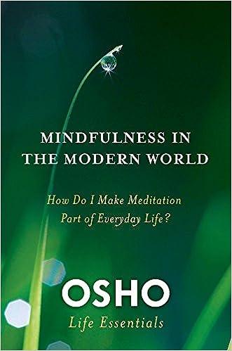 Meditation pdf osho
