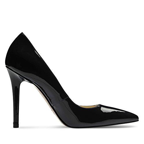 Dunkelblau Evita Tacco Col Scarpe Donna Shoes wqAYaqR
