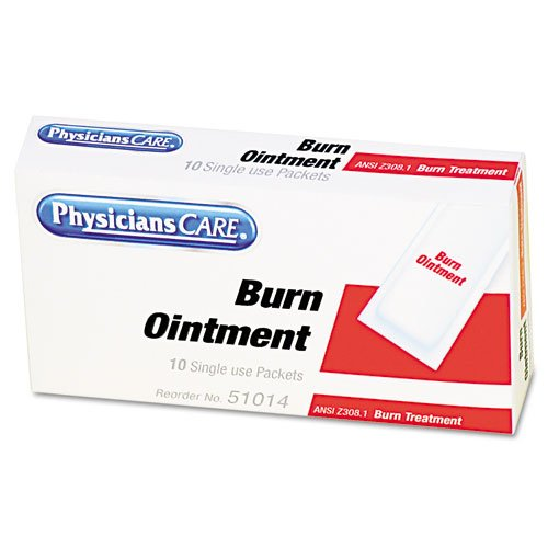 First Aid Kit Individual Burn Cream Refill - 10 (0.1g Tube)