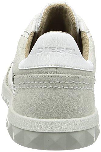 Studshean Bianco Dirty Diesel S Diesel S White Uomo Chinchilla Sneaker 4wOF4Tnqx