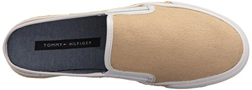 Tommy Hilfiger Womens Frank Sneaker Natural
