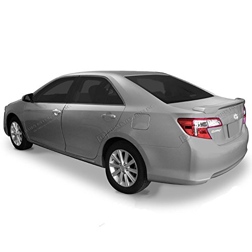 Dawn Enterprises CUS-CAM12 Custom Style Pedestal Spoiler Compatible with Toyota Camry - Silver Metallic (1F7)