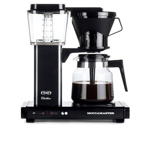 Moccamaster KBG741 AO - Cafetera (Independiente, Semi-automática, Drip coffee maker, De café molido, Negro)