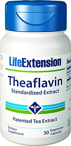 (Life Extension - Theaflavins Standardized Extract - 350 Mg - 30 Vcaps (Pack of 3))