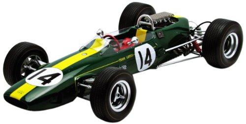 1/18 Team Lotus33 BRM No.14 2nd Monaco GP 1967(グリーン×イエローライン) 18S082