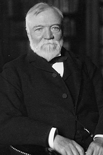 Andrew Carnegie notebook - achieve your goals, perfect 120 lined pages #1 (Andrew Carnegie Notebooks)