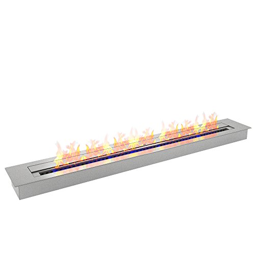 - Regal Flame 9.9 Liter PRO 47 Inch Bio Ethanol Fireplace Burner Insert. All Types of Indoor, Gas Inserts, Ventless & Vent Free, Electric, or Outdoor Fireplaces & Fire Pits.