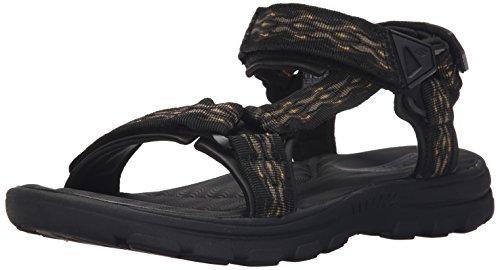 Black Drito Flat Bravelen USA Sandal Skechers Men's qwa64Y