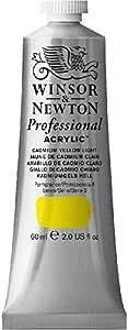 Winsor & Newton Professional, Acrylic Color 60 mL - Cadmium Light Yellow