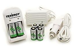 Box: Smart Charger + 6 pcs RCR123A 3.0V (3.2V NOM) 400mAh LiFePO4 Rechargeable Batteries
