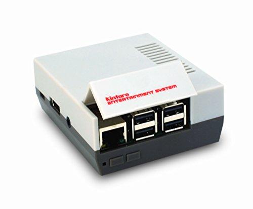 Caja NES para Raspberry Pi 3, 2 y B+ Kintaro, disipadores de calor incluidos
