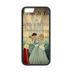 Cinderella iPhone 6 Plus 5.5 Inch Cell Phone Case Black yyfabc-478483