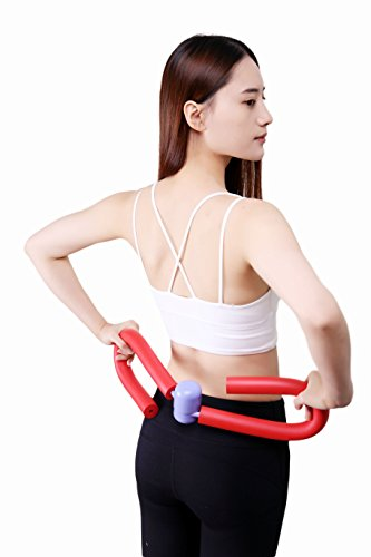 Gym Yoga Fitness Gear Leg Weight Loss Training Household (Red) by tryall
