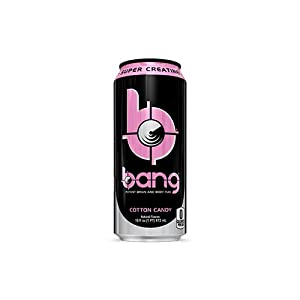 VPX Bang RTD, Cotton Candy, 16oz, 12 Cans