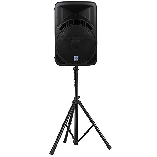 Rockville RPG15BT 15'' Powered 1000W DJ PA Speaker BlueTooth,USB,SD,Remote+Stand by Rockville