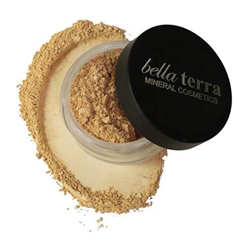 Bella Terra Mineral Powder Foundation 9 grams, Honey
