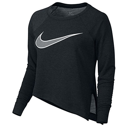 New Nike Women's Training Top BLACK/WHITE L