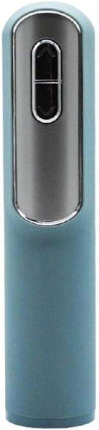 GUIOB Automatischer Weinflaschen/öffner Korkenzieher Elektrischer Sektflaschen/öffner Kit Mit Folienschneider Akku Power Cork Out Tool,Blue