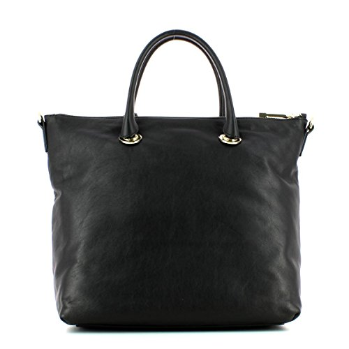 Mujer Tote C1ve0180301001 Bolsa Coccinelle Blanche Negro pSHwP