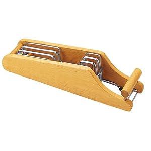 貝印 MY FAVORITE 木製包丁スタンド 3丁用 AP-0520