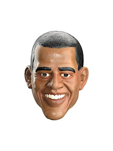 Barrack Obama Vinyl Full Face Costume