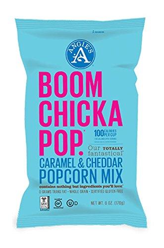 Angies Boom Chicka Pop Caramel & Cheddar Popcorn Mix 6oz (1 Pack)